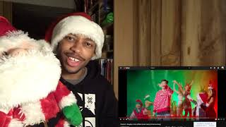 REACTING TO RiceGum - Naughty Or Nice (Official Music Video) Christmas Song !!!