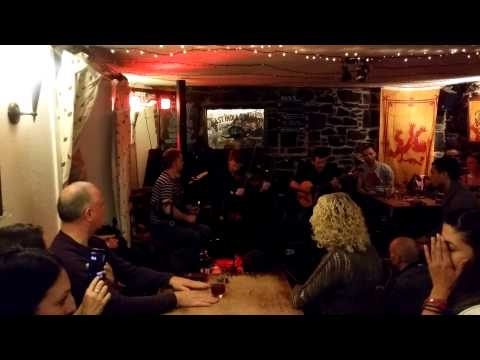 Peter Morrison, Ross Couper and Seumas MacLennan at The Old Inn