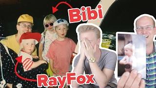BIBI UND ICH MIT 4 JAHREN ! 😳 - Papa zeigt die peinlichsten Fotos II RayFox