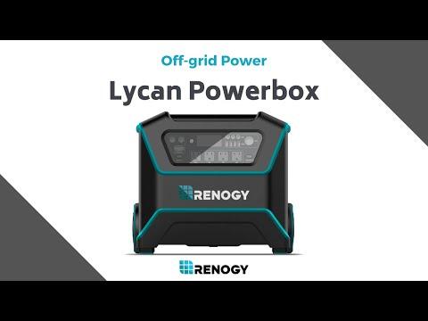 Renogy Lycan Powerbox — Solar Power Generator