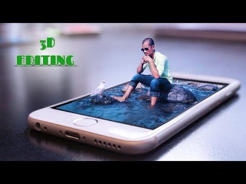 HOW TO MAKE 3D MANIPULATION | PICSART TUTORIAL