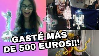 VLOG EXPOTAKU CORUÑA 2019 + UNBOXING MUY FRIKI, GASTÉ MÁS DE 500 EUROS?!