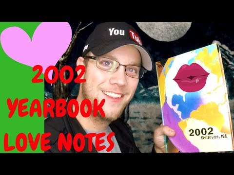 2002 YEARBOOK LOVE NOTES