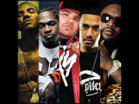 Dre Ft. Rick Ross, The Game, Fat Joe, Pusha-T & Dirtbag - Chevy Ridin' High (remix)  W/ LYRICS