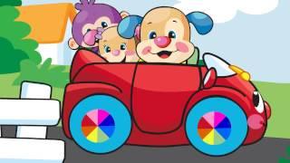 Repeat youtube video Eğlen ve Öğren - Şarkı - Arabanın tekeri dönüyor (306492 WHEELSONCAR MV TU)
