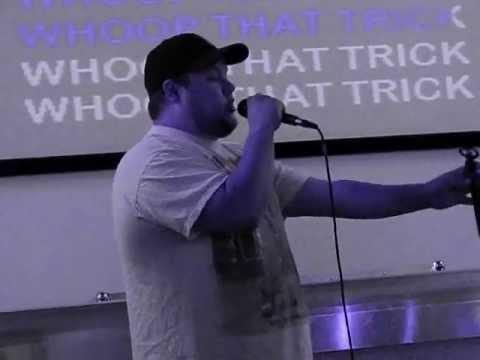 """TEAM EDWARD KARAOKE: Jeff F'n Baker - """"Whoop That Trick"""""""