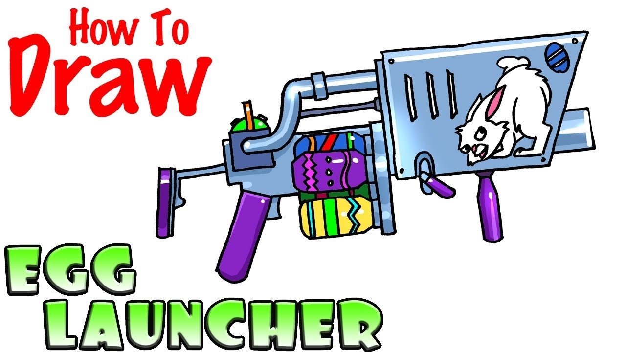 How to Draw Easter Egg Launcher