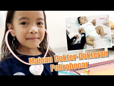 Zara Main Dokter Dokteran periksa Bayi Lucu Gemuk   Mainan Anak Poli Robocar Amber   Pretend Play