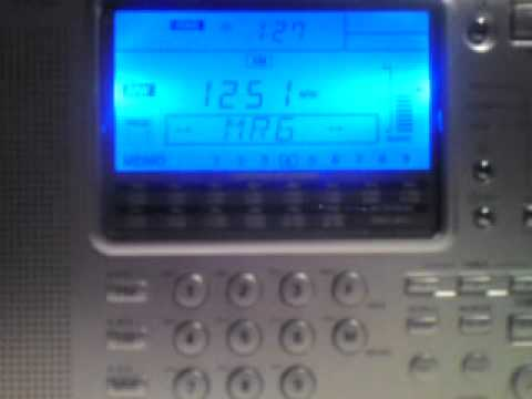 Radio Jamahiriya, Tripoli on 1053 KHz