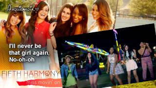 Fifth harmony- Miss movin