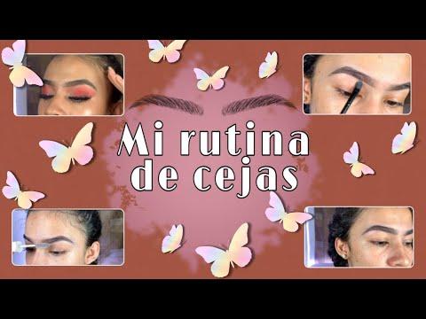 MI RUTINA DE CEJAS+TIPS/BRIELA RODRÍGUEZ