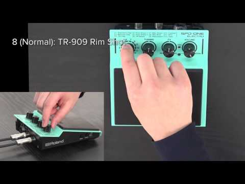 """""""Introducing the Sounds (SPD::ONE ELECTRO)"""" Roland SPD::ONE #01"""