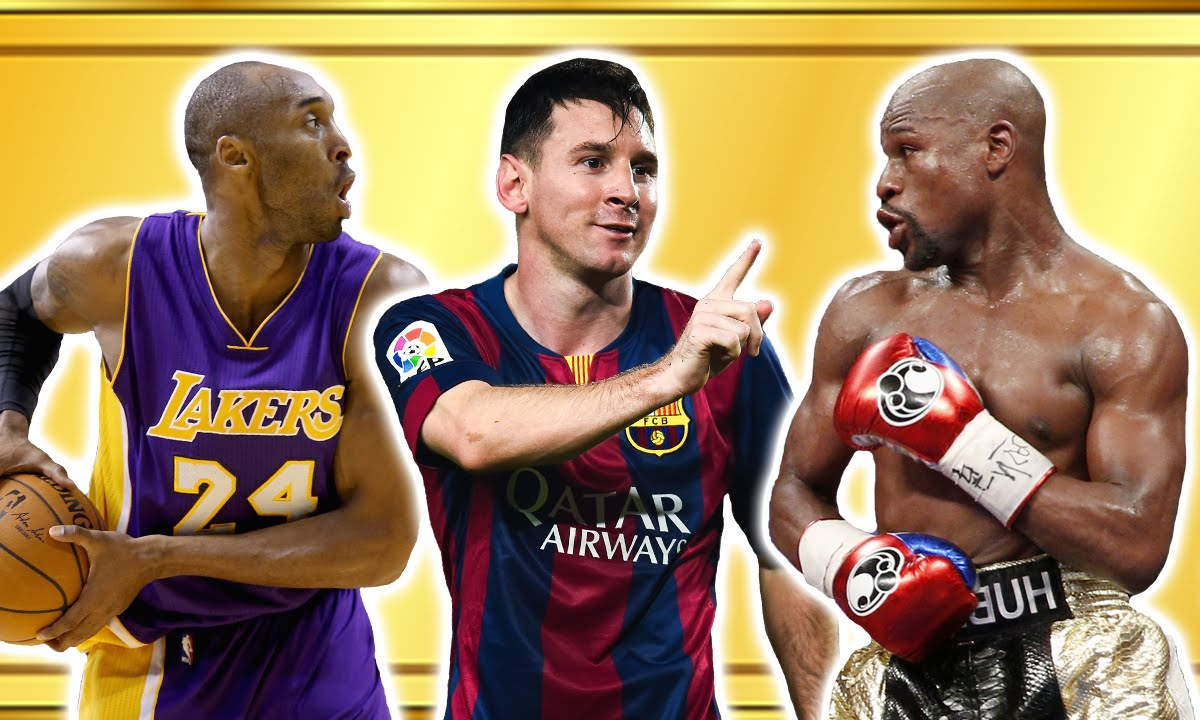 The richest sportsman in the world. Top richest athletes