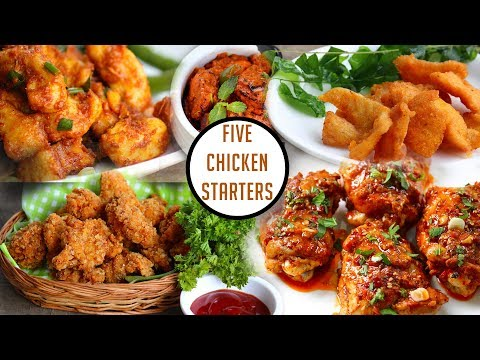 5 Amazing Chicken Starters-Simple Chicken Starter Recipes