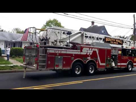 Fire on Route 71 in Manasquan