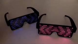 Fashion Flashing Luminous LED light Eyeglasses Factory Quality Price