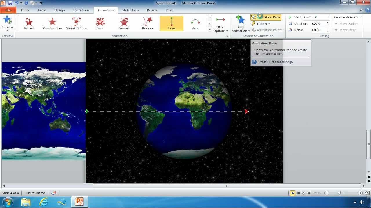 Animate an image in powerpoint 2010 youtube animate an image in powerpoint 2010 toneelgroepblik Images