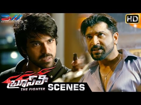 Ram Charan Warns Arun Vijay | Bruce Lee The Fighter Telugu Movie Scenes | Rakul Preet | Ali