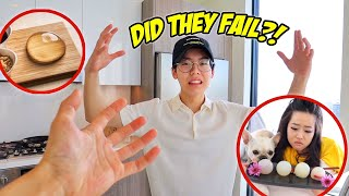 FIANCE & DAN DAN TAKEOVER THE VLOG... and try to make raindrop cake