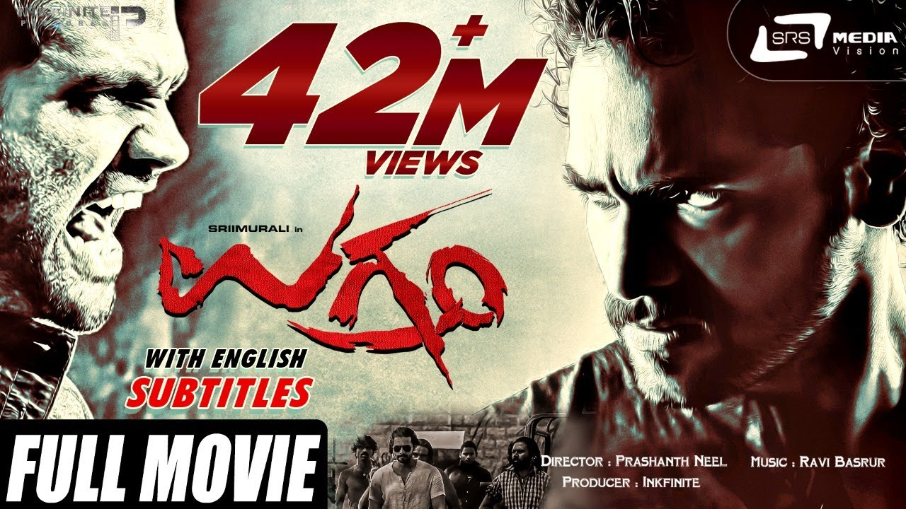 Download UGRAMM | Kannada Full Movie HD | With Subtitles in English | Roaring Star Srimurali | Haripriya