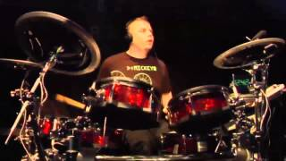 #11 Mick Gravee from the Netherlands; V-Drums World Championship 2012
