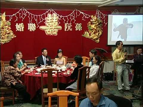 Karaoke Chinese Love Song @ A Chinese Vietnamese Wedding Tor