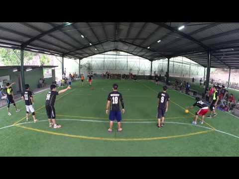 National Dodgeball League 2014: Match 99 - Titans vs Zelts Game 10/11 (Male)