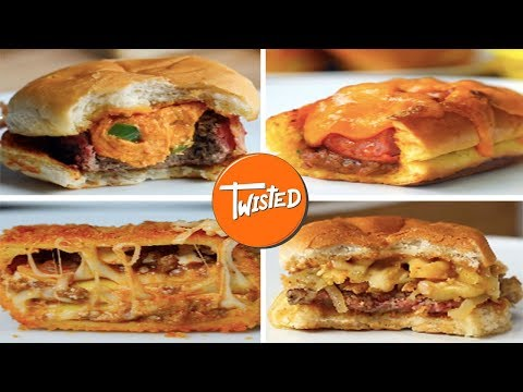 Top 10 Cheesy Meals | 10 Cheese Recipes | Twisted
