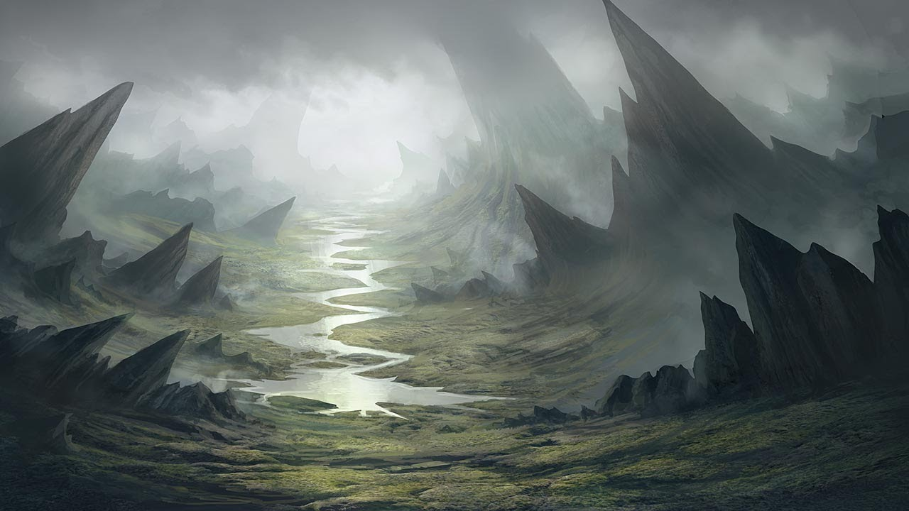 New Tutorial: Painting a Fantasy Environment in Photoshop ...