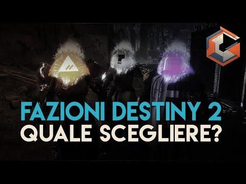 Destiny 2 | Contese di Fazione | QUALE SCEGLIERE thumbnail