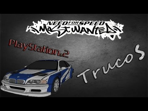 Todos los trucos del Need For Speed Most Wanted ps2 (Loquendo)