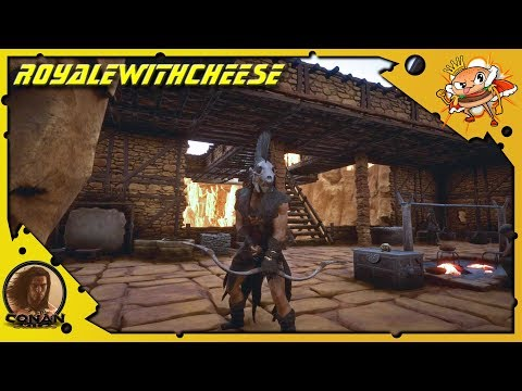 Scariest Spider Of All Time And How To Make Thick Leather - Conan Exiles [Full Release Gameplay E7]