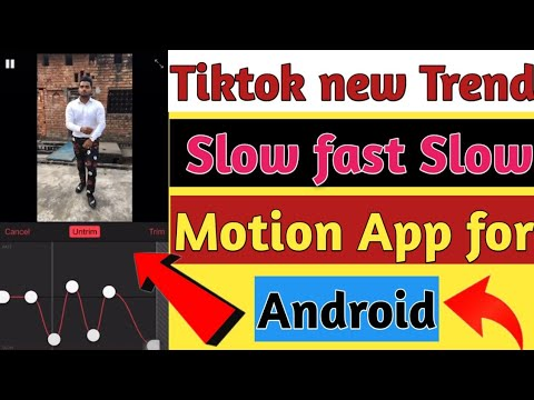 Tiktok New Trending Slow Fast Slow Motion App For Android || Android Me Slowmo Ka Best App |