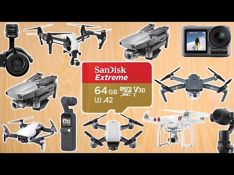 Best Memory Card For DJI Drones – Choosing The Best Micro SD Card For Video On DJI Drone And Cameras