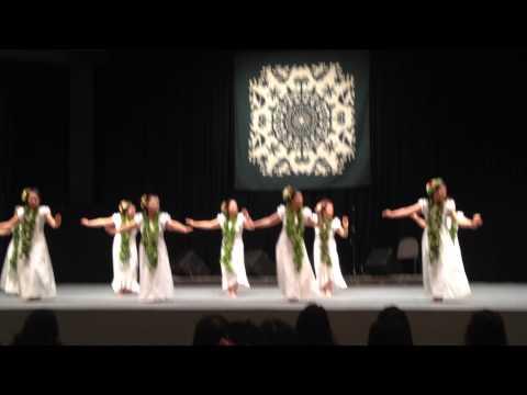Hawaii Loa Aloha Festival in Kobe 2015.1.18 Kamakani Kupulau Hula Club