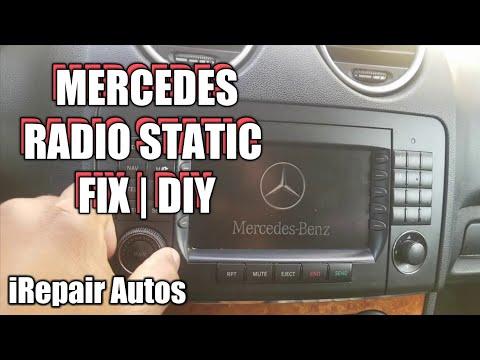 Mercedes Radio Static Fix | DIY