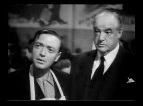 """Peter Lorre & Sydney Greenstreet in """"Hollywood Canteen"""""""