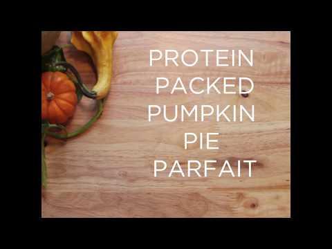 Protein-Packed Pumpkin Pie Parfait