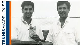 The History of Tourna Grip! Plus stories about Pete Sampras + more ATP Players