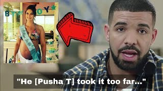 Drake on NOT Responding to Pusha T 'Story of Adidon'. Sophie Brussaux. J Prince. No Filter