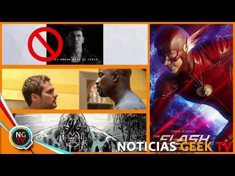 The flash 4x02 Gotham   Cancelaron The Punisher   Gotham Nuevo Traje    Noticias Geek TV