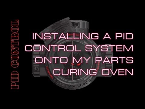 hqdefault pid controller install on my parts curing oven youtube