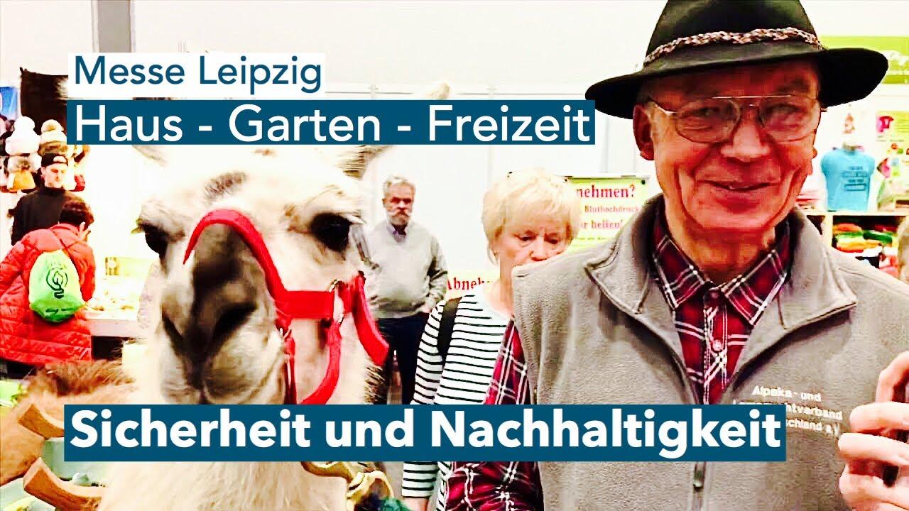 Messe Haus Garten Freizeit 2020 In Leipzig Youtube
