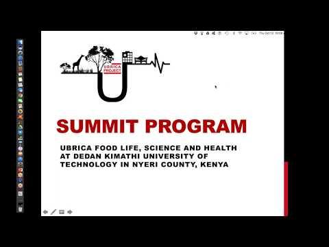 Summit Program: Ubrica Food, Lifescience and Health