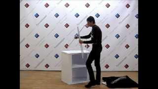 Промостойка_Презентация(Промостойка Презентация http://www.rusinntorg.ru/product/394 - просто собирается и эффектно выглядит. На этой промостойке..., 2012-04-11T08:05:37.000Z)