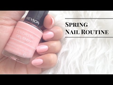 Spring Nail Routine | Soft Pink Nails