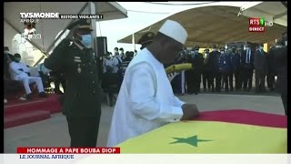 Sénégal : cérémonie d'hommage à Pape Bouba Diop