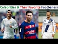 Bollywood Celebrities and their favorite footballers,Cristiano Ronaldo, Messi,Ronaldinho, robin vin