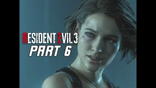 RESIDENT EVIL 3 REMAKE Walkthrough Part 6 - Laboratory (RE3 PC Gameplay)