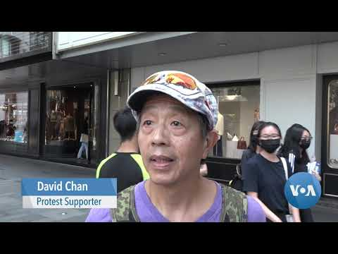 Hong Kong Protests Continue, Confrontational and Quiet